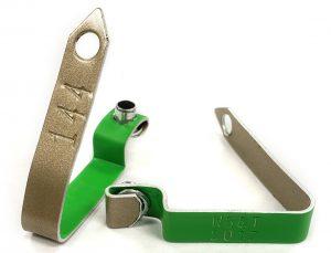 890-3 zip wing band / placas para alas aluminio