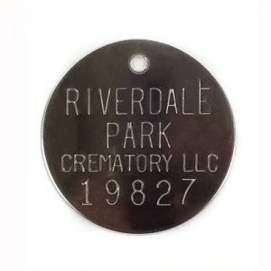 custom cremation tag