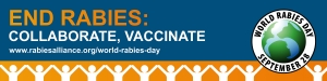 world rabies day 2020 collaborate, vaccinate