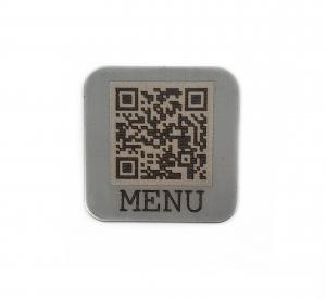 QR Coded Tag for Menus